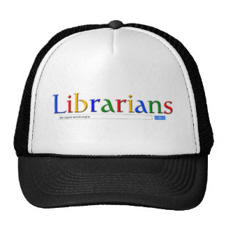 librarians the original search engine trucker hat