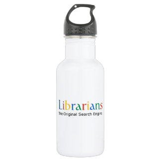Librarians The Original Search Engine Water Bottle