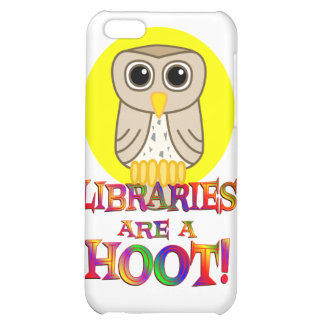 Libraries are a Hoot Case For iPhone 5C