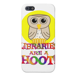 Libraries are a Hoot Covers For iPhone 5