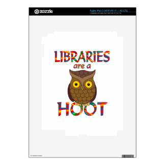 Libraries are a Hoot iPad 3 Decals