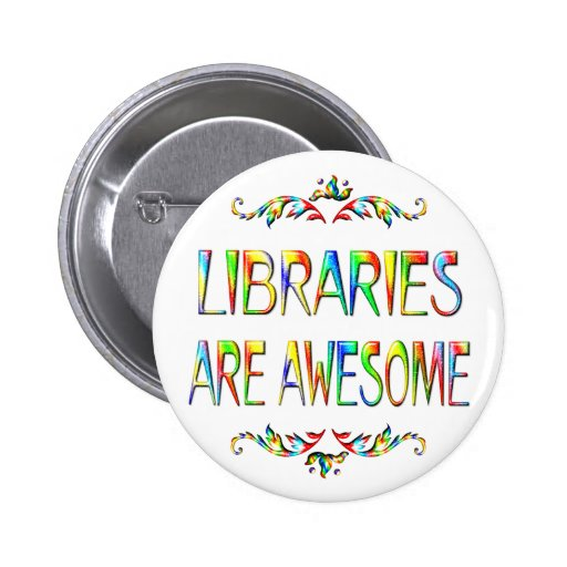 Libraries are Awesome Button