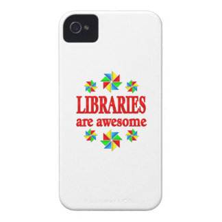 Libraries are Awesome Case-Mate iPhone 4 Case
