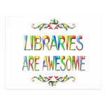 Libraries are Awesome Post Card