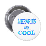 Libraries are Cool Pinback Buttons