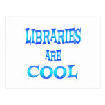 Libraries are Cool Postcard