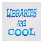 Libraries are Cool Posters