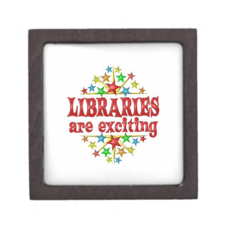 Libraries are Exciting Jewelry Box