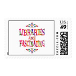 Libraries are Fascinating Postage