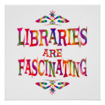 Libraries are Fascinating Poster