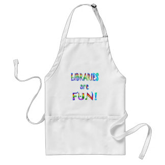 Libraries are Fun Adult Apron