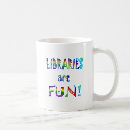 Libraries are Fun Classic White Coffee Mug