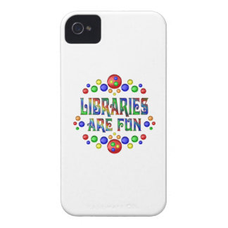 Libraries are Fun iPhone 4 Case
