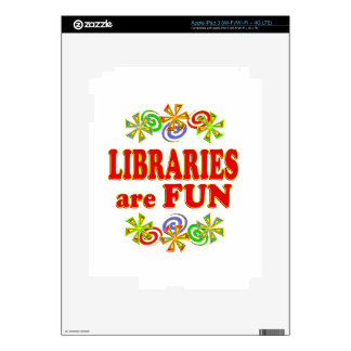 Libraries are FUN Decal For iPad 3