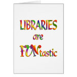 Libraries are FUNtastic Greeting Cards