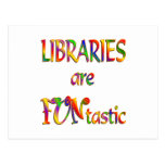 Libraries are FUNtastic Postcard