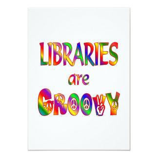 Libraries are Groovy Custom Invitations