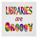 Libraries are Groovy Print
