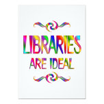 Libraries are Ideal Custom Announcement