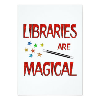 Libraries are Magical Personalized Announcements