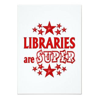 Libraries are Super Invites