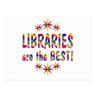 Libraries are the Best Postcards