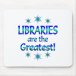 Libraries are the Greatest Mousepads