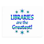 Libraries are the Greatest Post Cards