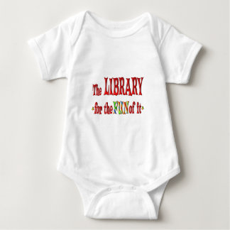 Libraries for Fun Baby Bodysuit