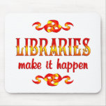 LIBRARIES MOUSE PAD
