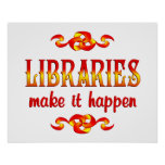 LIBRARIES POSTERS