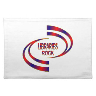 Libraries Rock Cloth Placemat