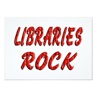 Libraries ROCK Personalized Announcement