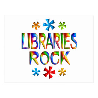 LIBRARIES ROCK POST CARDS