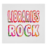 Libraries Rock Posters