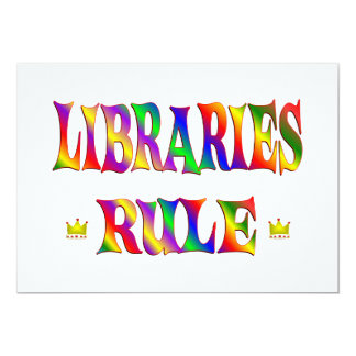 Libraries Rule Announcement