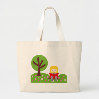 Library6 Large Tote Bag