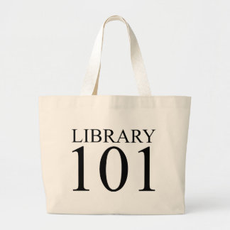 LIBRARY 101 CANVAS BAGS
