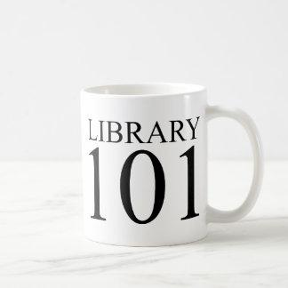 LIBRARY 101 COFFEE MUG