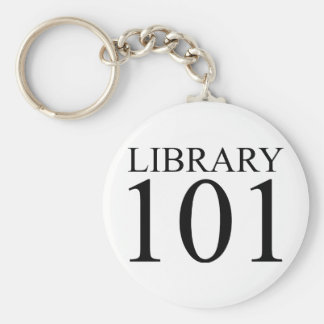 LIBRARY 101 KEYCHAIN