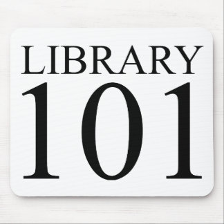 LIBRARY 101 MOUSE PAD