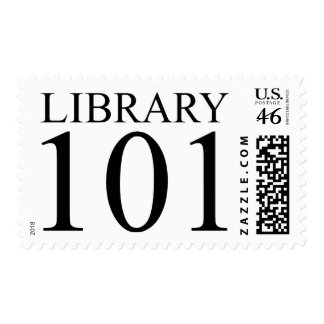 LIBRARY 101 STAMPS