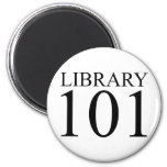 LIBRARY 101 REFRIGERATOR MAGNET