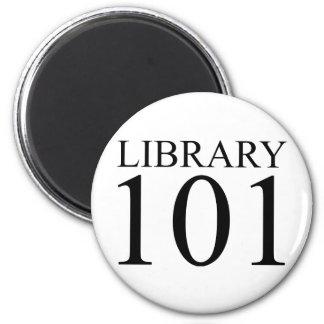 LIBRARY 101 REFRIGERATOR MAGNET
