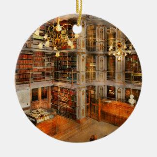 Library - A literary classic 1905 Ceramic Ornament