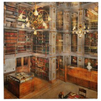 Library - A literary classic 1905 Napkin