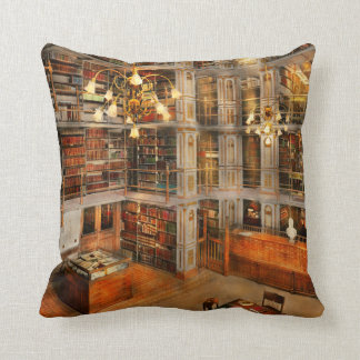 Library - A literary classic 1905 Throw Pillow