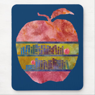 Library Apple Mouse Pad