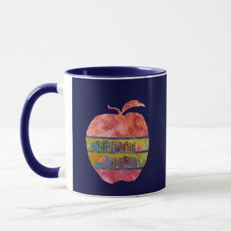 Library Apple Mug