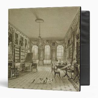Library as Sitting Room, Cassiobury Park, c.1815, Binder